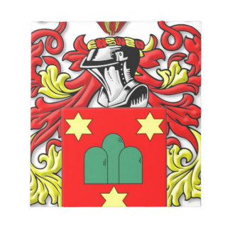 Montanaro Coat of Arms Notepad