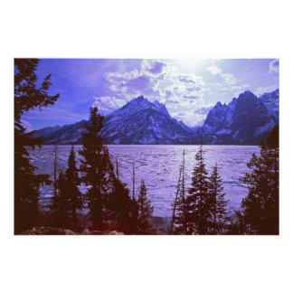 Montañas #1 de Teton Cojinete