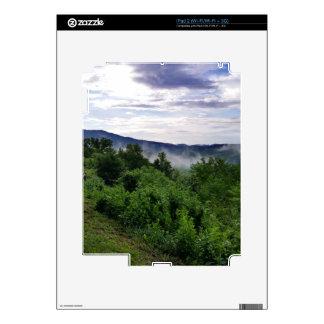 Montañas ahumadas en Great Smoky Mountains Calcomanía Para iPad 2