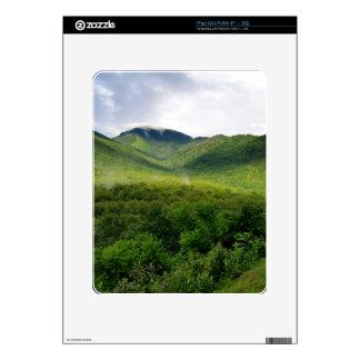 Montañas ahumadas en Great Smoky Mountains Skin Para El iPad