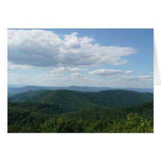 Montañas apalaches I Shenandoah Tarjeta Pequeña