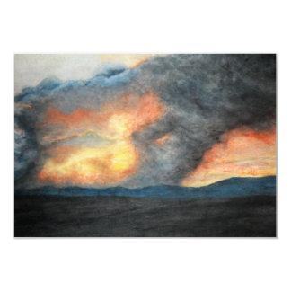 montañas ardientes (acuarela) comunicados
