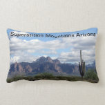 Montañas Arizona de las supersticiones Cojines