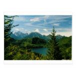 Montañas bávaras postal