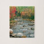 Montañas blancas New Hampshire del otoño Rompecabeza
