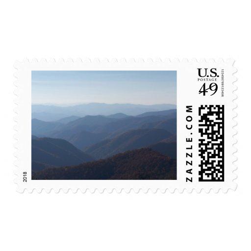 montañas Blue Ridge Franqueo