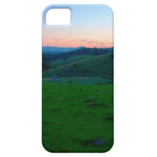 montañas Blue Ridge iPhone 5 Cárcasas