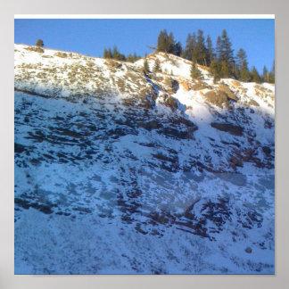 Montañas bonitas Nevado Colorado Póster