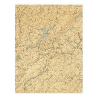 Montañas centrales de New Jersey Tarjetas Postales