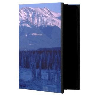 Montañas congeladas Banff Alberta Nevado del río