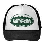 Montañas de Adirondack Gorros Bordados