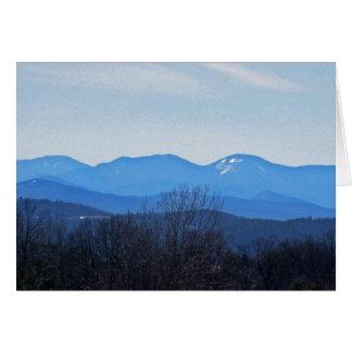 Montañas de Adirondack Tarjeta De Felicitación