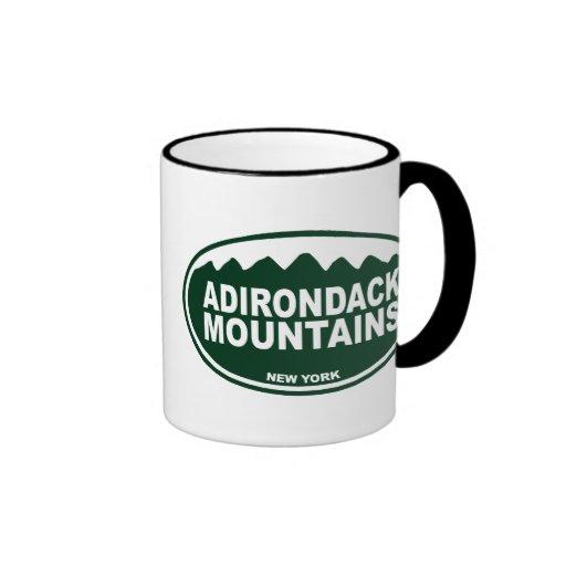 Montañas de Adirondack Tazas
