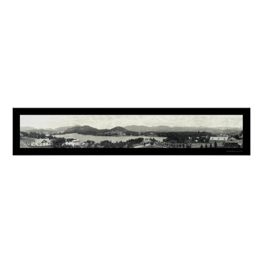 Montañas de Adirondack y Lake Placid 1912 Impresiones