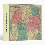 Montañas de Adirondack y mapa del parque