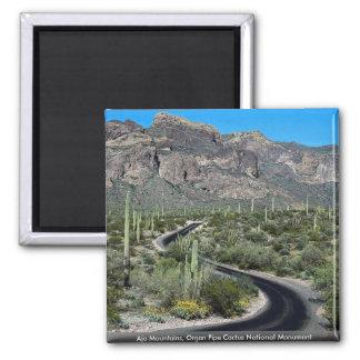 Montañas de Ajo, monumento nacional del cactus del Imán Cuadrado
