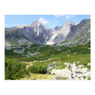 Montañas de alto Tatras Eslovaquia Postal