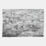 Montañas de antaño de Sierra Toalla De Mano
