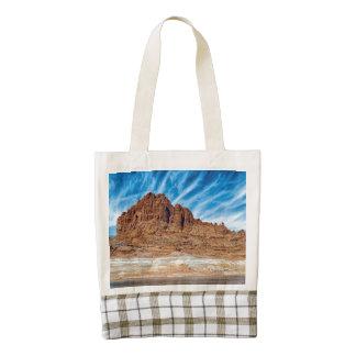 Montañas de Arizona Bolsa Tote Zazzle HEART