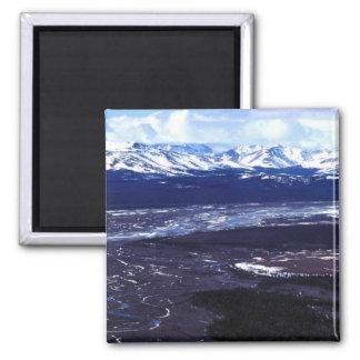 Montañas de Baird del río de la ardilla Imán De Nevera