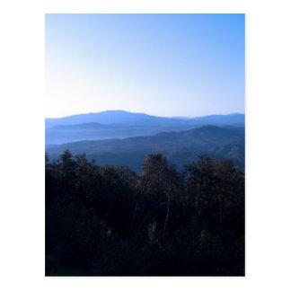 Montañas de Carolina del Norte Tarjetas Postales