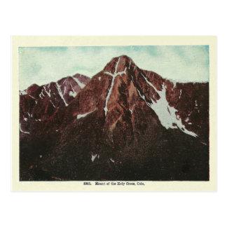 Montañas de Colorado del vintage Tarjeta Postal
