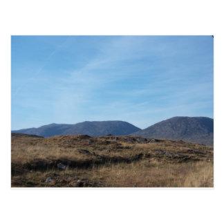 Montañas de Connemara Postal