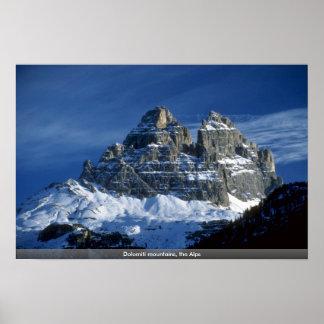 Montañas de Dolomiti, las montañas Impresiones