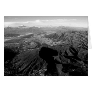 Montañas de Ecuador Tarjeta De Felicitación