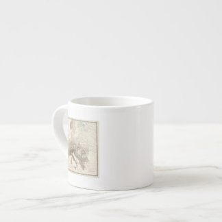 Montañas de Europa Taza Espresso
