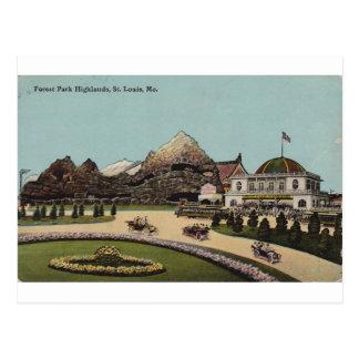 Montañas de Forest Park, St. Louis, Missouri Postales