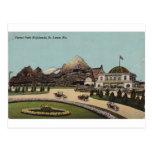 Montañas de Forest Park, St. Louis, Missouri Tarjeta Postal