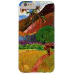 Montañas de Gauguin - de Tahitian Funda Para iPhone 6 Plus Barely There