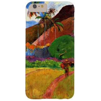 Montañas de Gauguin - de Tahitian Funda Barely There iPhone 6 Plus