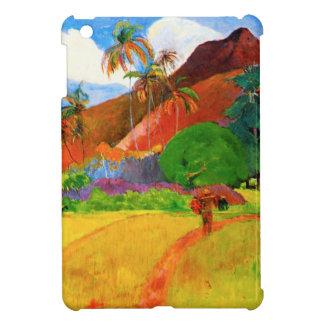 Montañas de Gauguin en caso del iPad de Tahití min iPad Mini Protectores