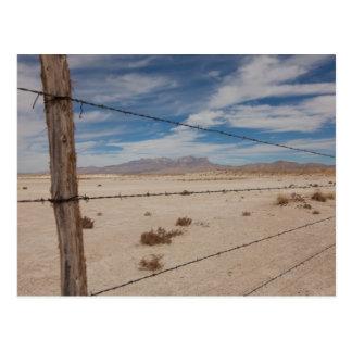 Montañas de Guadalupe Tarjetas Postales