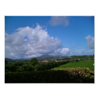 Montañas de Kerry Póster