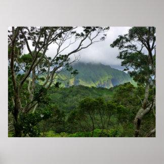Montañas de Koolau Posters