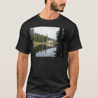Montañas de la cascada, diablos lago, Oregon Playera