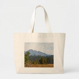 Montañas de la cascada, Oregon Bolsa Lienzo