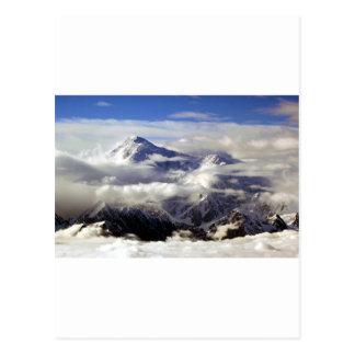 Montañas de la gama de Alaska, los E.E.U.U. del Tarjetas Postales