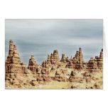 Montañas de la piedra arenisca felicitacion