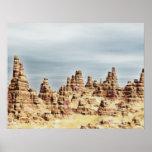 Montañas de la piedra arenisca posters