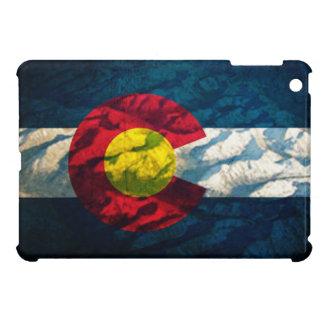 Montañas de la roca de la bandera de Colorado