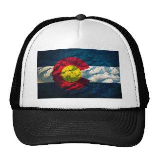 Montañas de la roca de la bandera de Colorado Gorra