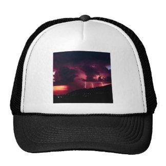 Montañas de la tempestad de truenos del cielo gorras de camionero