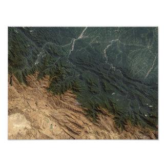 Montañas de los Andes Cojinete