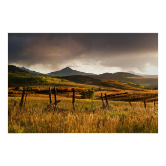 Montañas de los E.E.U.U., Colorado, San Juan Póster
