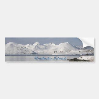 Montañas de Makushin en invierno Pegatina Para Auto