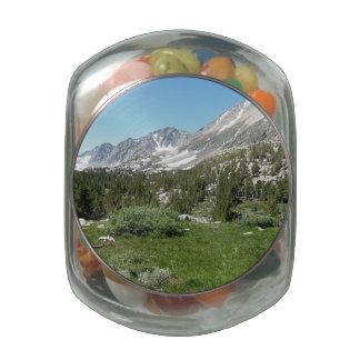 Montañas de Nevada Frascos De Cristal